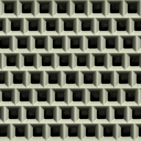 Steel grate. Seamless texture.  Stock Photo - 15823482