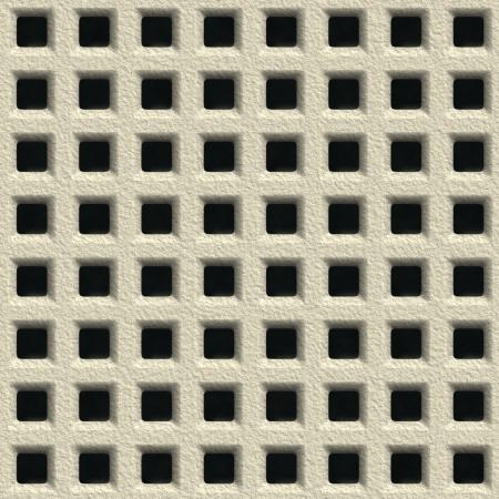 ventilate: Concrete vent. Seamless pattern.