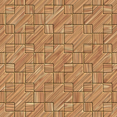 Wood tile. Seamless texture. photo