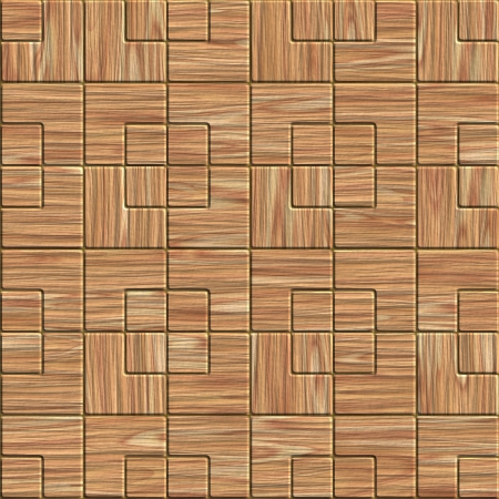 Wood tile. Seamless texture. Stock Photo - 16453793