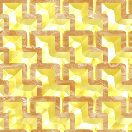 Gold and marble.Seamless pattern. photo