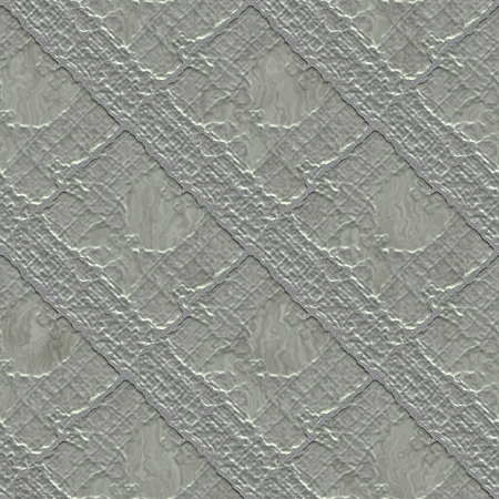 treadplate: Textured metal. Seamless texture. Stock Photo