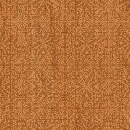 tooled: Carved wood. Seamless texture.