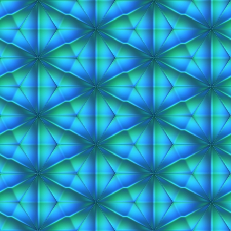 Aquamarine crystal. Seamless texture. Stock Photo - 17840465