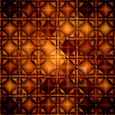 Amber  Seamless pattern  Stock Photo - 18392530