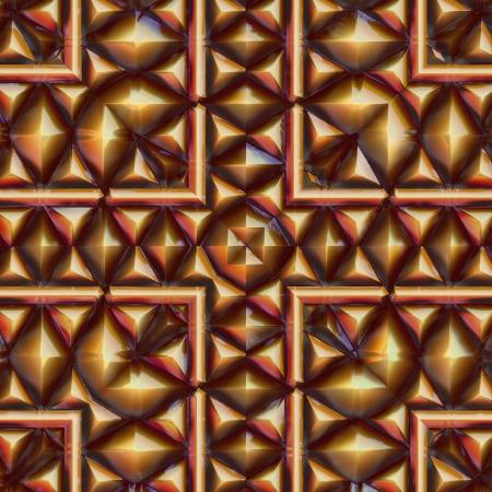 sphalerite: Pyrite. Seamless pattern.