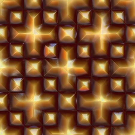 sphalerite: Pyrite pattern. Seamless texture. Stock Photo