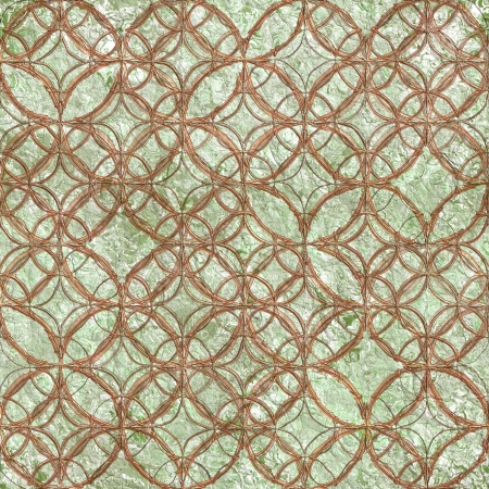 Old relief fresco. Seamless pattern. photo