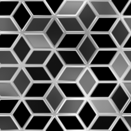 Metallic tiles. Seamless background. photo