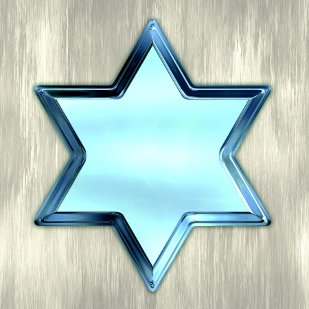 Star of David  Stock Photo - 20057908