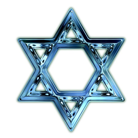 jews: Star of David. Stock Photo