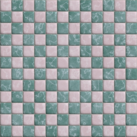 horisontal: Ceramic tiles. Seamless texture.  Stock Photo