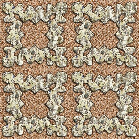 Grunge metal pattern. Seamless background. Stock Photo - 21129033