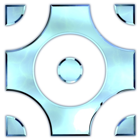 Glass ornament. Stock Photo - 21129099