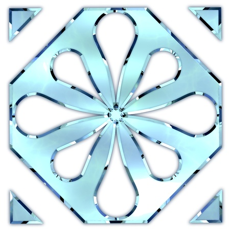 Glass ornament. Stock Photo - 21129100