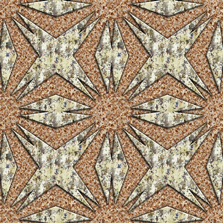 Grunge metal pattern. Seamless background. Stock Photo - 21554377