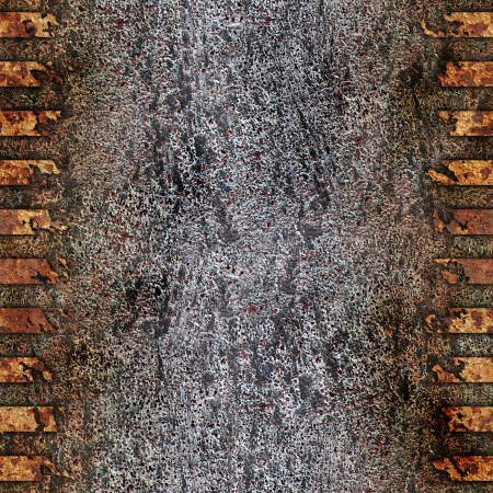 Rusted metal. Seamless background. Stock Photo - 21951989