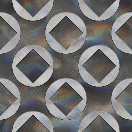 Crystal pattern. Seamless texture. Stock Photo - 23744698