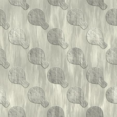 treadplate: Bulb. Metal pattern. Seamless texture.  Stock Photo