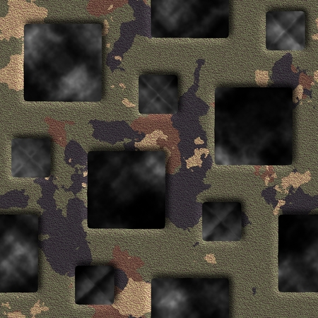grate: Camouflage grate. Seamless background.