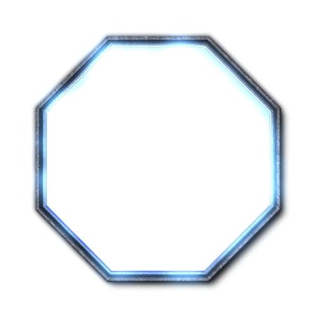 illuminated: Illuminated octagon