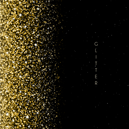 Glitter Background with gold texture and sparkles