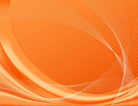 Orange background, complete with wire frames; perfect for temples; contains gradient meshes Illustration