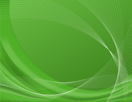 Green background complete with wire frames, perfect for templates, contains gradient meshes