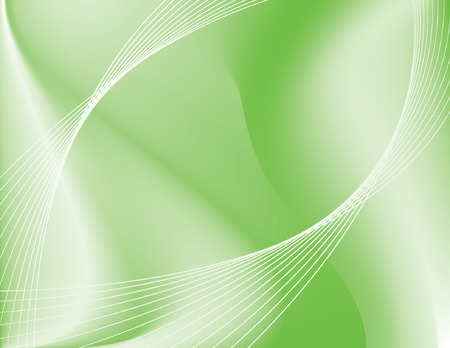Green fusion abstract background representing technology or environment; contains gradient mesh. 免版税图像 - 3476093