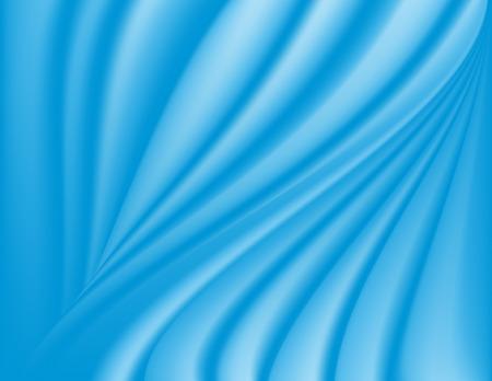 Ocean blauw satijnen achtergrond; bevat gradiënt mazen.