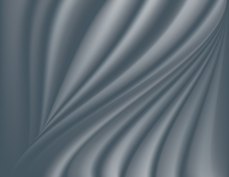 Silver, silky smooth abstract background