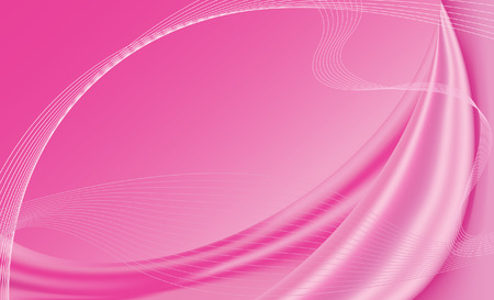 Pink satin background with wire frames, gradient mesh used