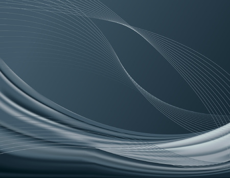 Smoky-colored, rippled, abstract background; vector contains meshes. 矢量图像