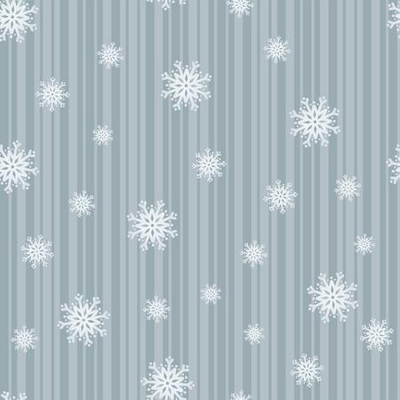 Fiocchi di neve blu gelidi sulle strisce in una composizione senza saldatura Archivio Fotografico - 5832722