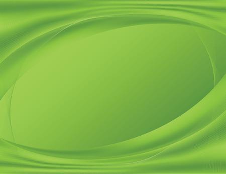 Groene abstracte achtergrond, ideaal voor technologie sjablonen; verloop maas bevat. Stock Illustratie