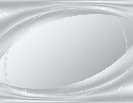 Argenteo, scintillante astratto sfondo, perfetto per i modelli di tecnologia; file vettoriali contiene gradiente maglie. Archivio Fotografico - 6218619