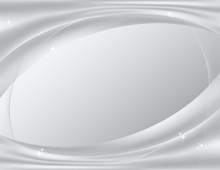 Silvery-white, sparkling abstract background, perfect for technology templates; vector file contains gradient mesh. 免版税图像 - 6218619