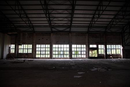 peristalsis: An abandoned factory with large windows Editorial