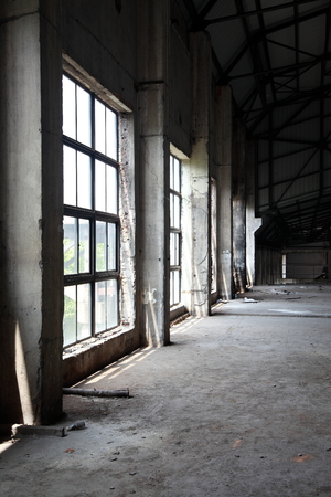 abandoned: Abandoned factories