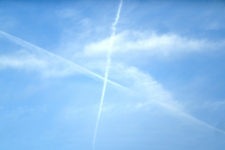 x marks the spot: closer look X in sky