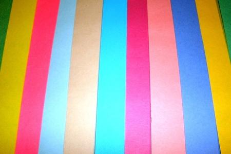 色のストライプ