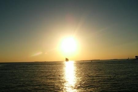 Key West sunset Stockfoto