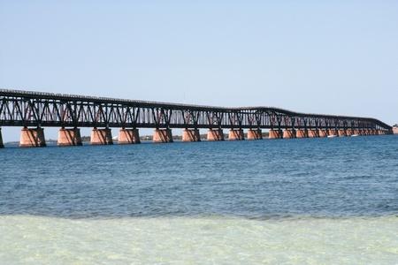 honda: Old Bahia honda bridge