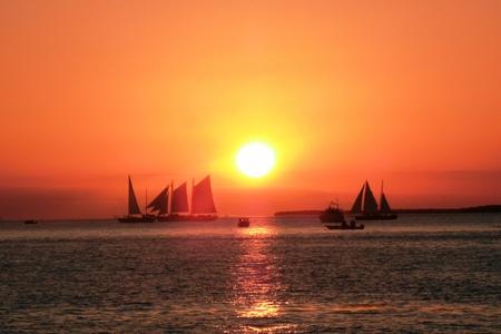 Key West beautiful sunset