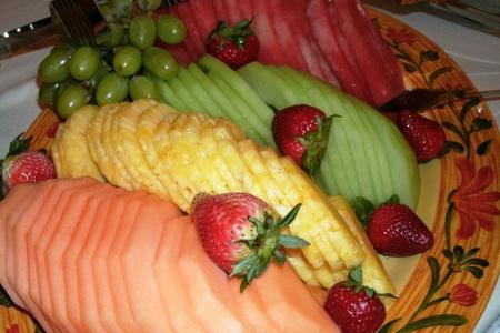 meloen-bessen Stockfoto