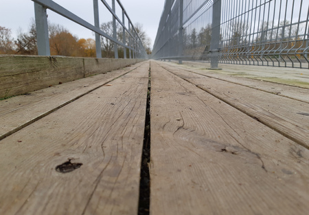 Wooden Walking Path Outdoor