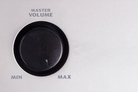 volume switcher turn on maximum. Max volume concept