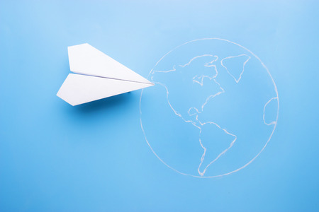 Plane above world map travel and tourism concept stock photo plane above world map travel and tourism concept stock photo 91596407 gumiabroncs Choice Image