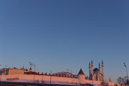 The Soyembika tower in the Kazan Kremlin, Tatarstan, Russia Stock Photo