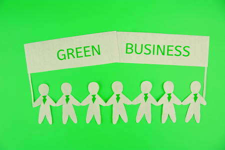 Business People Green Business